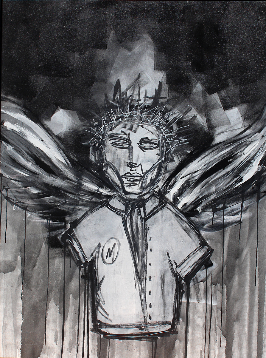 Angel 2015 ( Master$ ) Paint  55 x 67 inches