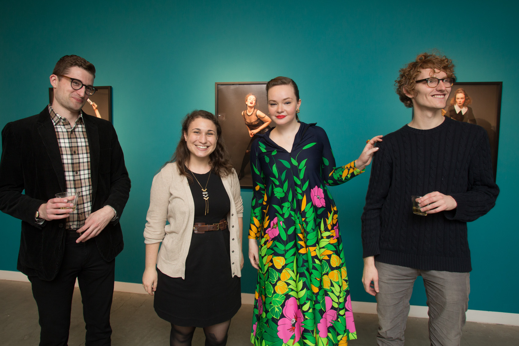 """""""Words for Women"""" Opening Reception, February 4th, 2016"""
