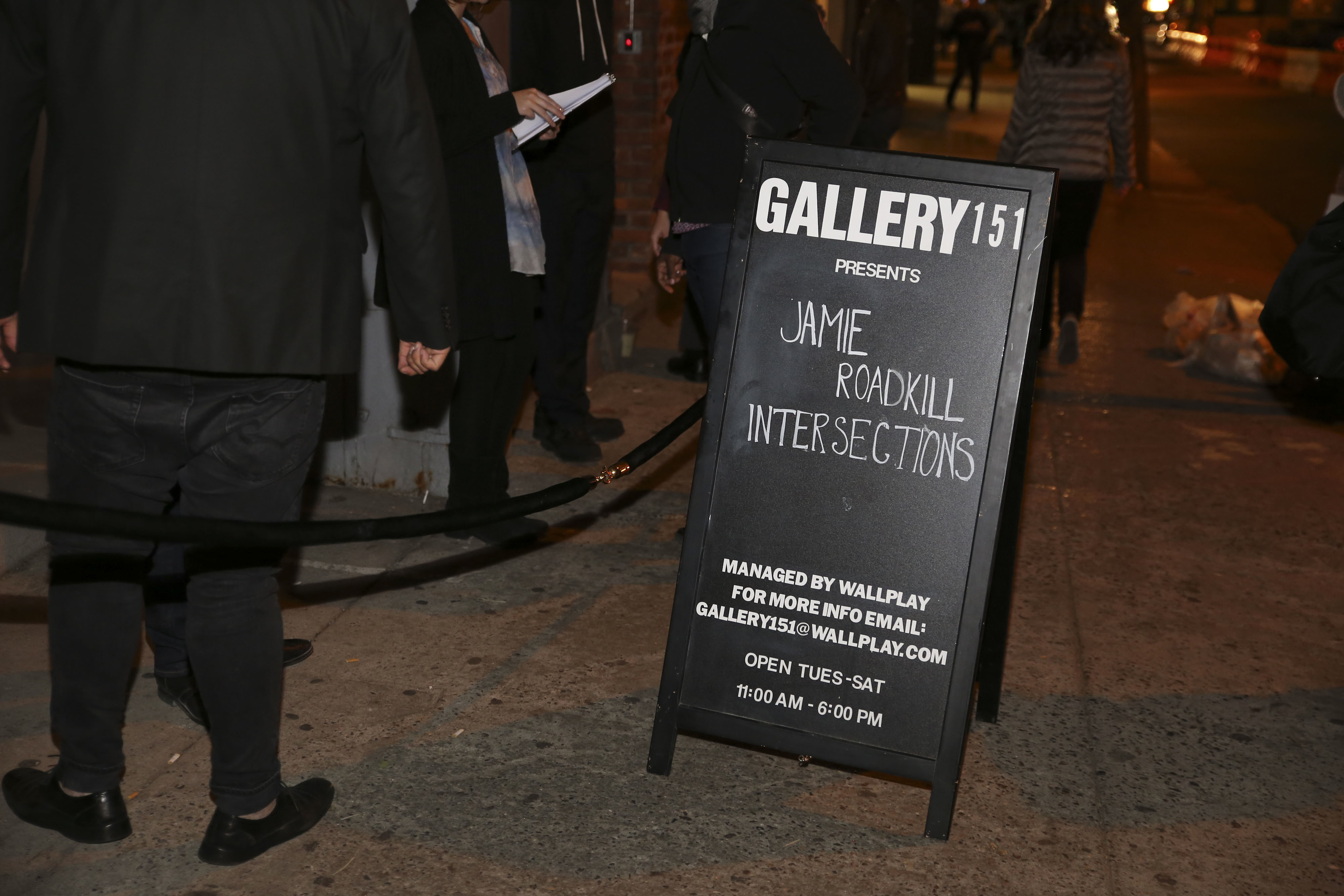 GALLERY 151 PRESENTS JAMIE ROADKILL: INTERSECTIONS